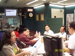 PAGASA's STC is invited as guest to the 90-minute DZMM Radio Program
