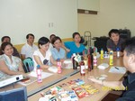 Meeting with Local Wine & Liquor Cluster